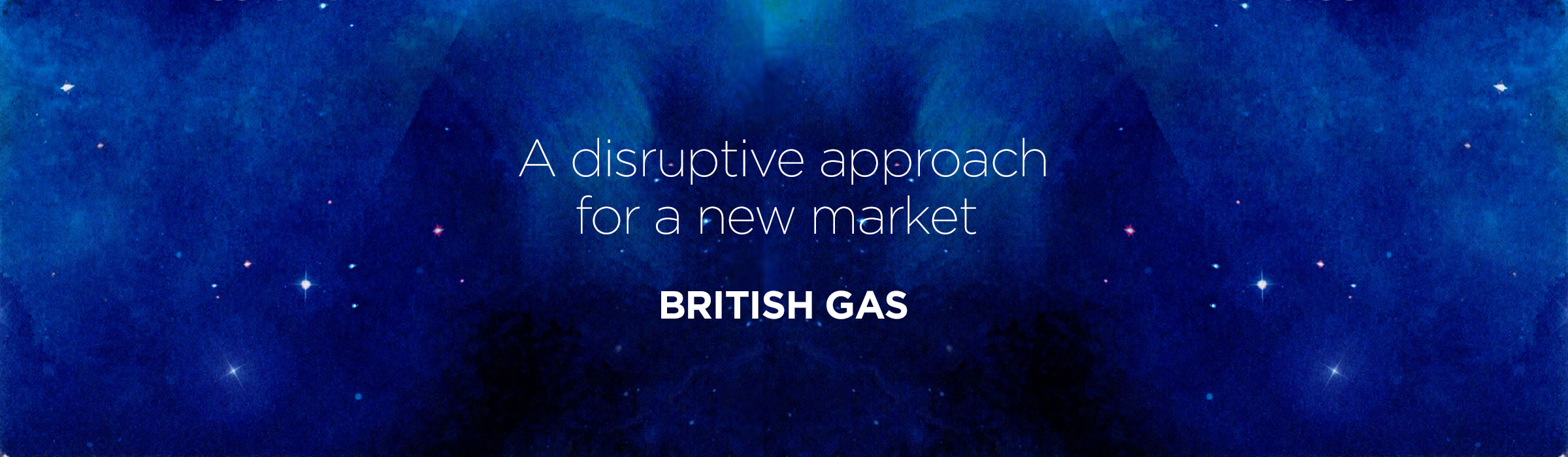 British Gas – A disruptive approach for a new market