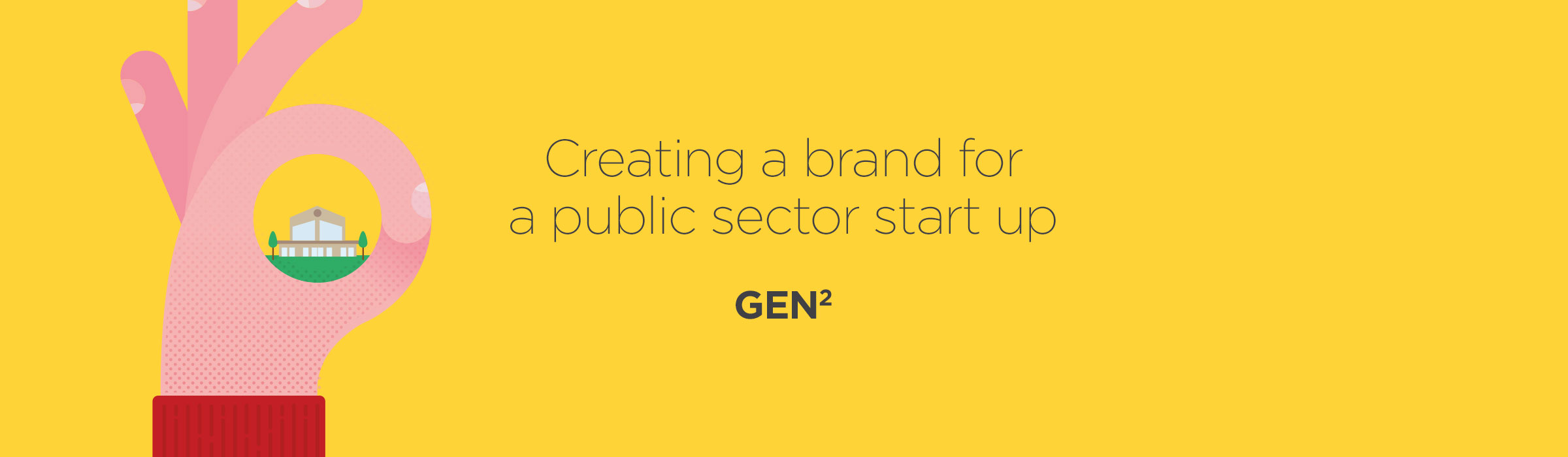 Gen2 – Creating a brand for a public sector start up