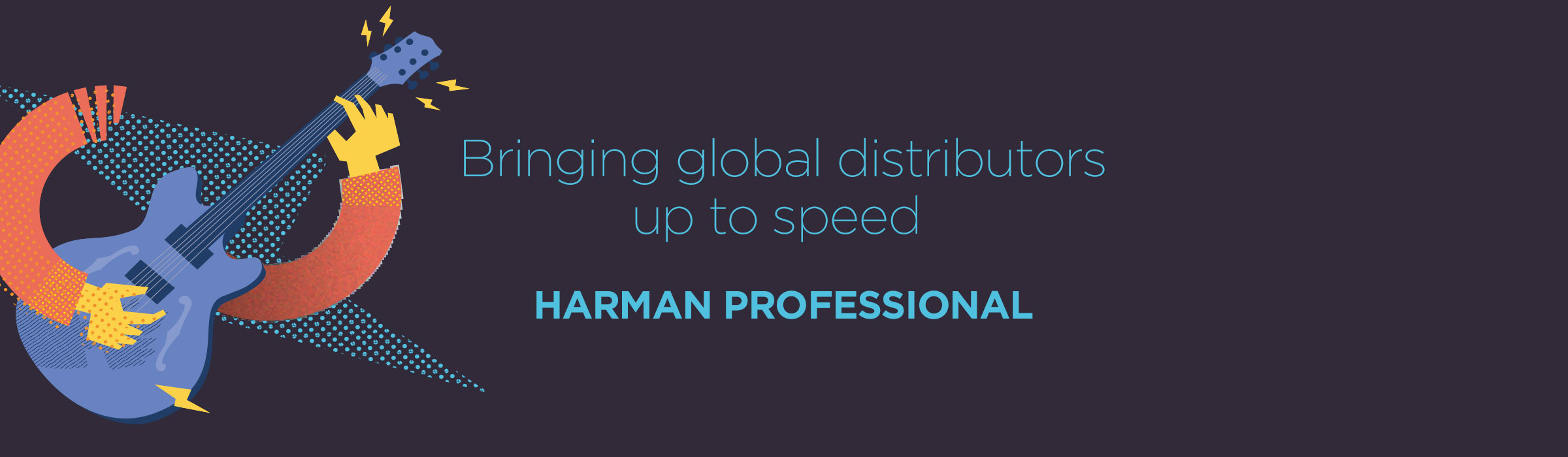 Harman Professional – Keeping global distributors up to speed