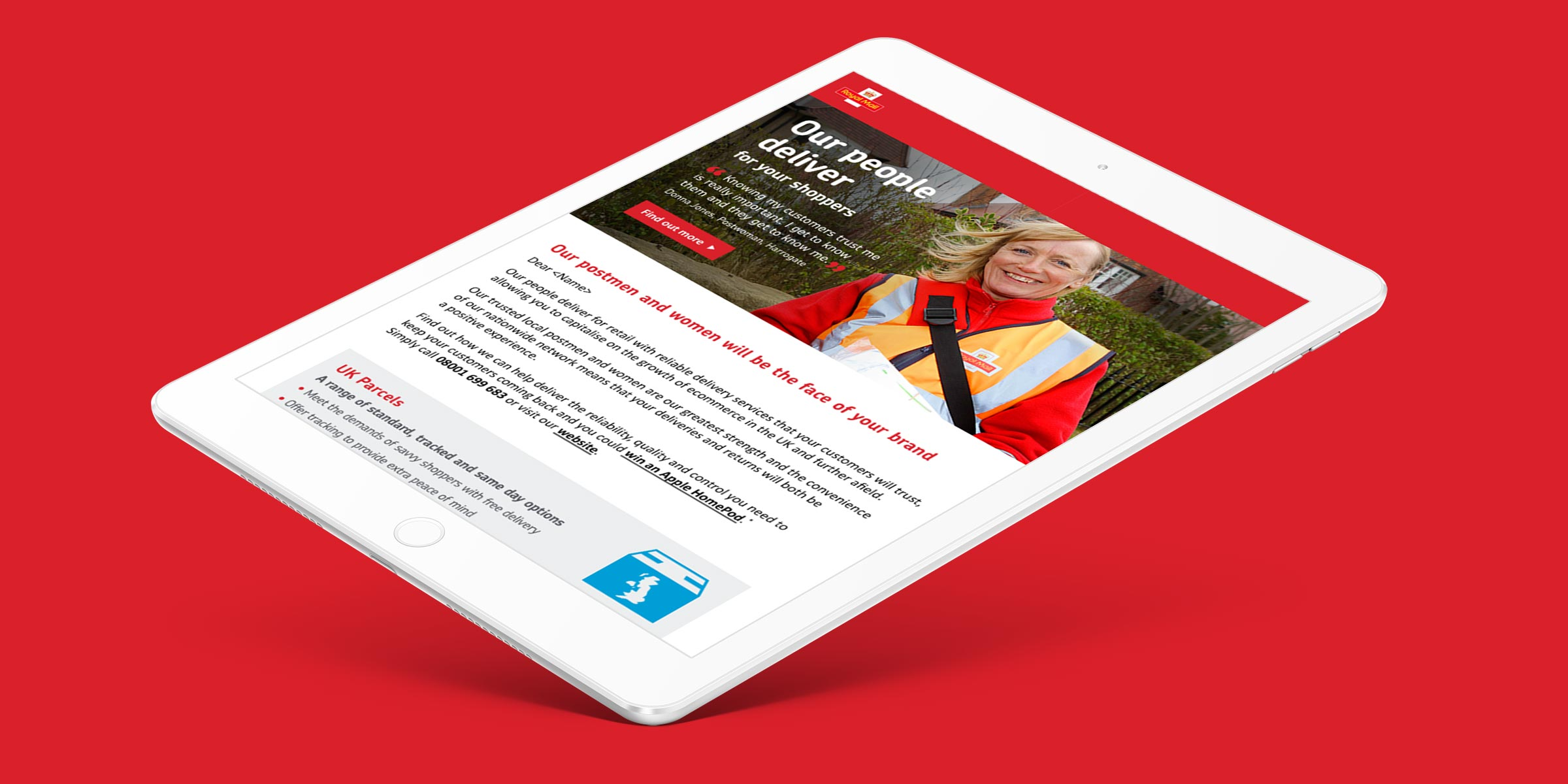 Royal Mail Q1 | The Creative Consultancy