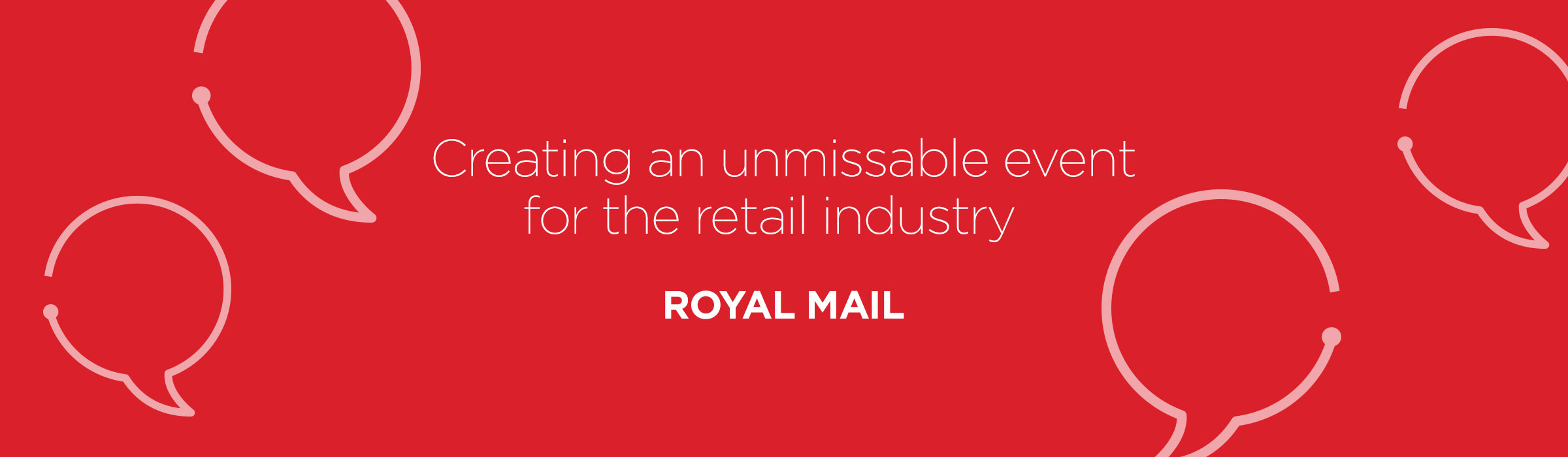 The Forum – Creating an unmissable event for the retail industry