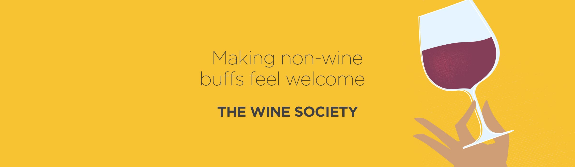 The Wine Society – Making non-wine buffs feel welcome